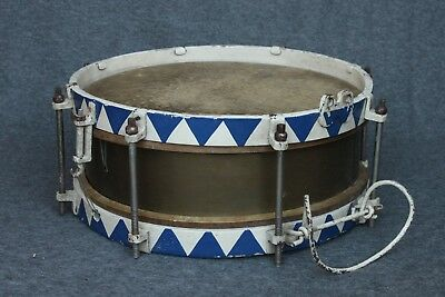 "Music Corps Marching Drum_German_WW2 Time_Military_1930-40_""Resonator"" (#3789)"