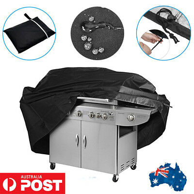 Waterproof BBQ Grill Cover 2/4 Burner Outdoor UV Gas Charcoal Barbecue Protector