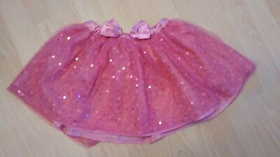 Girls pink party skirt.  Age 6-7 years.