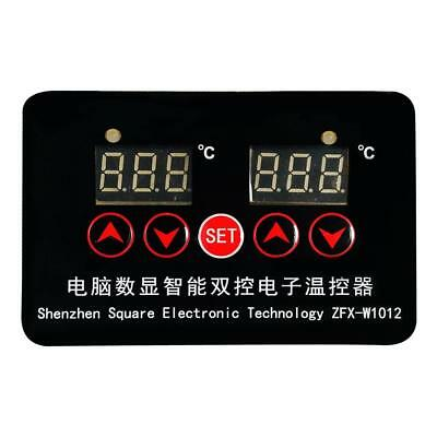 DC12V -50 ~ 110℃ 2 Channel Digital Temperature Control Switch Thermostat
