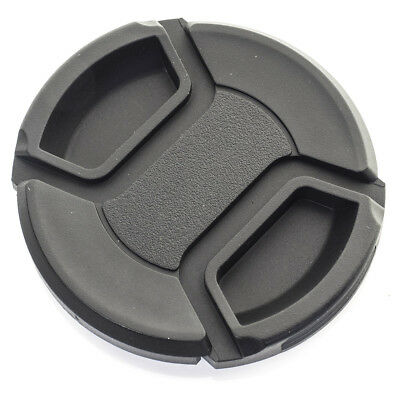KOOD 52mm LENS CAP Clip on Centre Pinch Grip fits most 52 mm Lenses