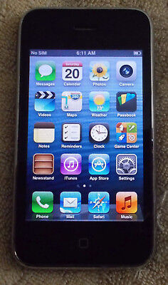Apple iPhone 3GS - 16GB - Black (Unlocked) A1303 (GSM) *Please Read*