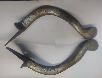 Barber Chair Parts By Theo A Kochs Foot Rest Mount Arms #207 & 206