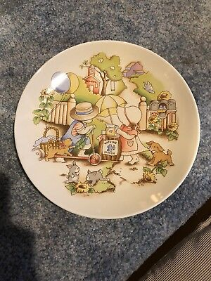 Watkins Country Kids Collectors Dessert Plate GOOD FRIENDS ARE FOREVER 1 of 6