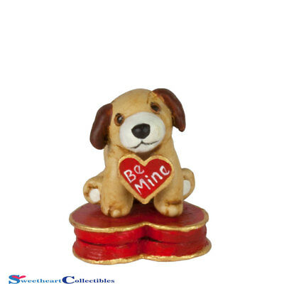 Wee Forest Folk Valentine Lovable Puppy A-46  Limited 2018