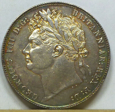 Great Britain Half Crown 1820 Extremely Fine