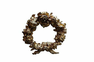 Hickory Manor House Tieback, Floral Wreath