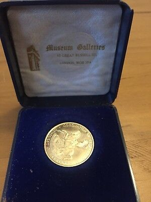Coronation Of Elizabeth 2nd 25th Anniversary Gold Coin