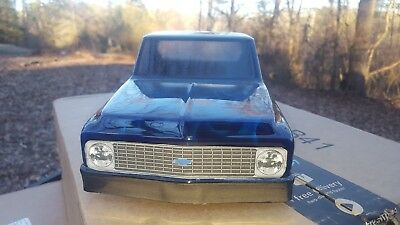 custom painted Chevy C10 Pick-Up Body for Stampede 2WD 4x4 1/10 RC Rock Crawlers