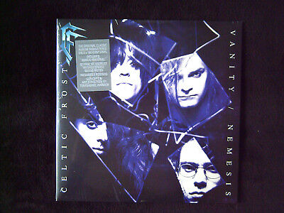 """CELTIC FROST """"VANITY / NEMESIS"""" REMASTERED SEALED NEW 2Lp 180g 2 POSTERS + BOOKL"""