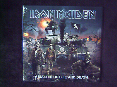 """IRON MAIDEN """" A MATTER OF LIFE AND DEATH"""" SEALED NEW 2Lp"""