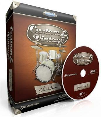 Toontrack Custom And Vintage SDX - NEU, ORIGINALVERPACKT!