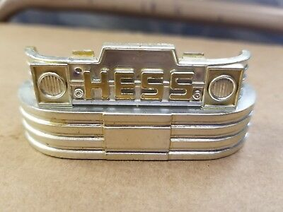 Hess 1970 71 Firetruck Original Front Chrome Bumber Part