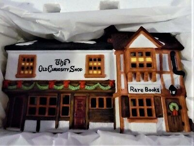 "Dept 56 ""THE OLD CURIOSITY SHOP"", RETIRED - Dickens Village Series #5905-6"
