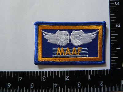 Ww 2 Army Air Corp Patch- ---Mediterranean Allied Air Force --Reproduction