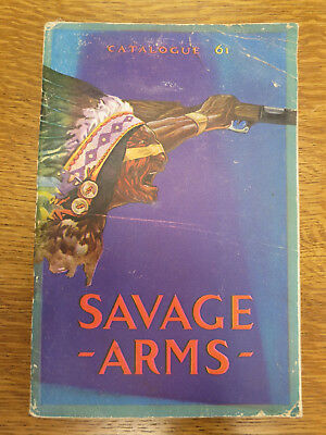 1920 Savage Arms Catalogue, Price List & Related Items