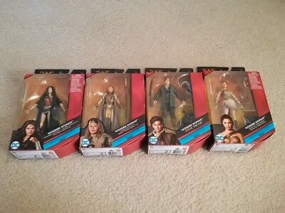 DC Comics Multiverse Ares Set of 4 with BAF Pieces - Wonder Woman, Hippolyta NEW