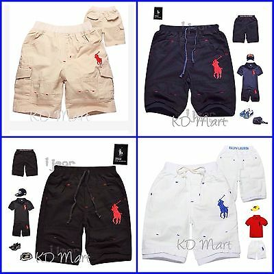 New Kids Toddler Boys polo classic Shorts pants size 1.2.3.4.5.6