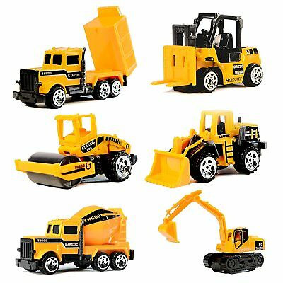 Toy Cars Construction Vehicles Set Kids Toys Children Play Kit