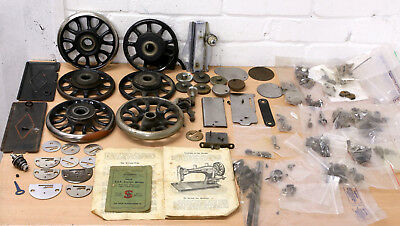 VINTAGE SINGER sewing MACHINE spares parts spares or repair LOTS 99p NR