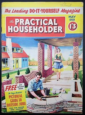 Vintage practical householder magazine july 1959 retro style vintage practical householder magazine may 1959 retro style solutioingenieria Image collections