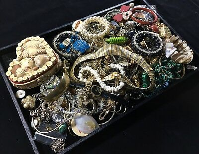 Vintage Lot of Mixed Costume Jewelry – Six+ Pounds Unsearched