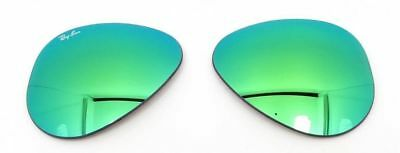 Ray Ban RB3025, 112 19 GREEN MIRROR 58 mm AUTHENTIC RAY BAN REPLACEMENT LENSES