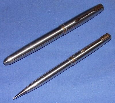 Parker 51 Fountain Pen and Pencil Set Flighter I Think ?