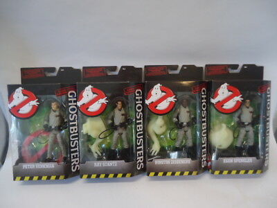 "BRAND NEW Ghostbusters Classic 6"" Figures Complete Set of 4, 2016 MATTEL Lot"