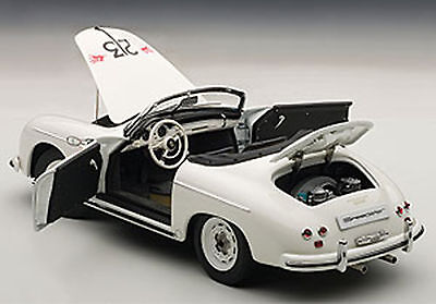Autoart PORSCHE 356 SPEEDSTER #23F WHITE 1/18 Scale. New Release! In Stock!
