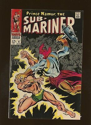 Sub-Mariner 4 FN+ 6.5 *1 Book* Attuma! Who Strikes Atlantis by Thomas & Buscema!