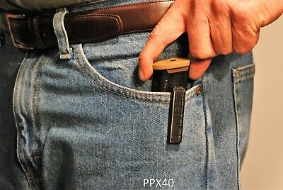 MAGAZINE HOLDERS FOR Walther PPX  40 Caliber Pistol Magazine - Twin Pack
