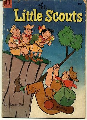 Four Color (1942 Series 2) #550 - The Little Scouts