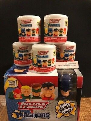 Mashems Fashems Justice League Series 1 New *Lot of 6* Unopened Blind Capsules