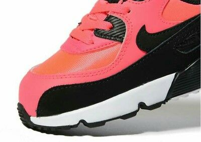 nike air max 90 infant lava baby girl trainers infant size 4.5 uk