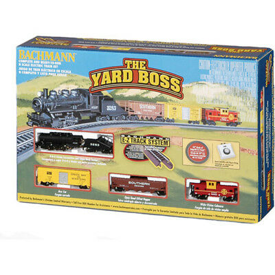 N Scale Train Yard Boss Electric Set Complete Starter Trains Ready Top Quality