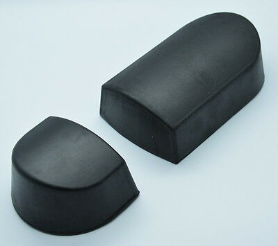 Panel Beaters Rubber Heel Dolly Set - Minimize Stretching Panel Repairs