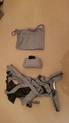 Baby Carrier, Izmi Baby Carrier - mid grey (Brilliant condition - used once)
