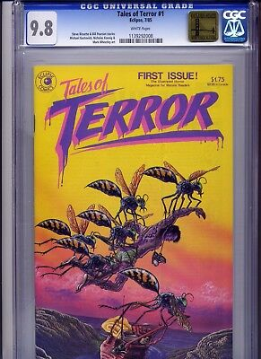 Tales of Terror #1 NM/MT CGC 9.8 NM/MINT Golden State