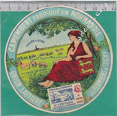 J429 Fromage Camembert Des Fermiers D Isigny Calvados Vallee D Aure