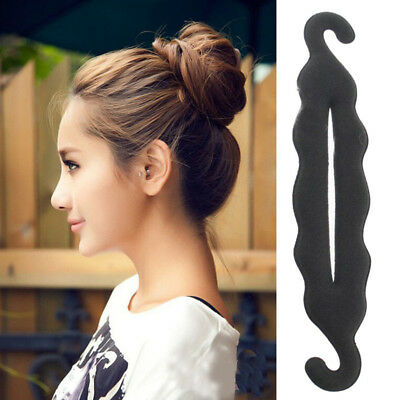 UK French Hair Braiding Tool Roller Hook Easy Plait Twist Styling Bun Maker 2019