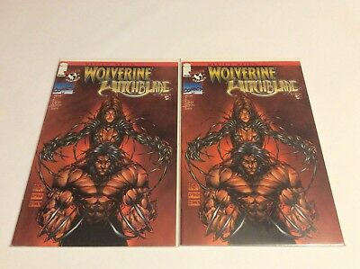 Wolverine & Witchblade | Turner Cover - 4 NM Copies | Devil's Reign Part 5