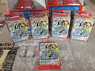 Carte DIGIMON deck rouge de 1999 en japonais