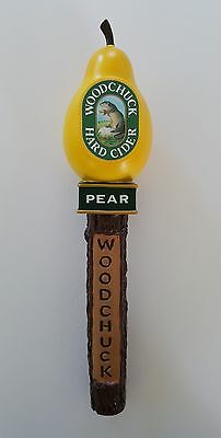 "Woodchuck Hard Cider Pear Beer Tap Handle 13""  Vermont 17 Coors Angry Orchard"