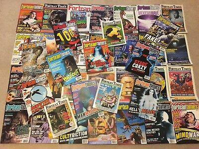 Huge Bundle Of Fortean Times Magazine Retro * The Journey Of Strange Phenomena*
