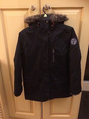 Tog 24, Boys, Black, Winter Coat, Age 9/10 Years.