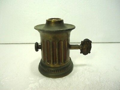 Vintage Cast Metal Lamp Spacer Break Faux Thumb Key Ornate Part Up-Cycle Craft