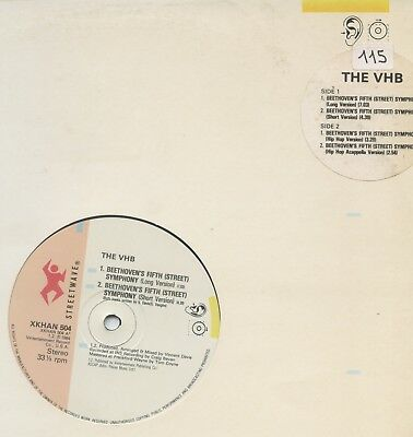 "THE VHB - Beethoven's Fifth (Street) Symphony UK 12"" Electro"