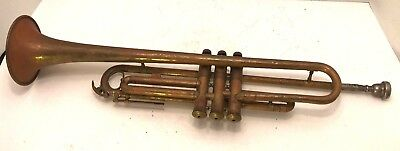 ATQ Vincent Bach Co New York Brass Trumpet in B from Czechoslovakia