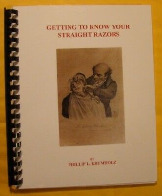 Book 'Getting To Know Your Straight Razors' - Krumholz